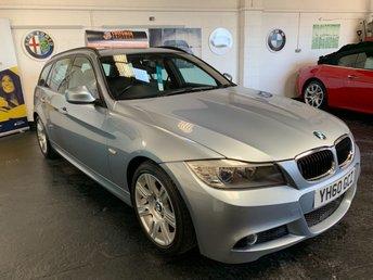 2010 BMW 3 SERIES 2.0 320D M SPORT TOURING 5d AUTO 181 BHP £6990.00