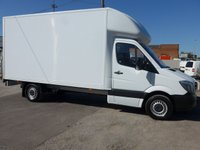 2017 MERCEDES-BENZ SPRINTER 314CDI LWB LUTON WITH TAILIFT, 140 BHP [EURO 6] £SOLD