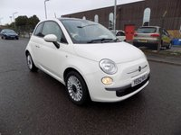 USED 2012 62 FIAT 500 1.2 LOUNGE 3d 69 BHP ***Nationwide Delivery Available***