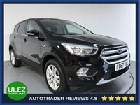 USED 2017 67 FORD KUGA 1.5 ZETEC 5d AUTO 180 BHP FULL FORD HISTORY - 1 OWNER - REAR SENSORS - BLUETOOTH - AIR CONDITIONING - CRUISE CONTROL - DAB