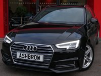 2016 AUDI A4 AVANT 2.0 TDI S LINE 5d 150 S/S £13983.00