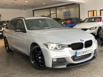 2017 BMW 3 SERIES 2.0 320D XDRIVE M SPORT TOURING 5d AUTO 188 BHP £18990.00