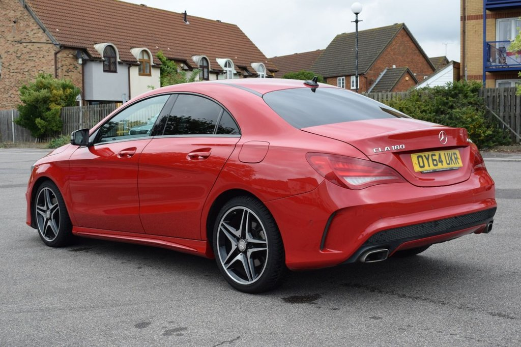 USED 2014 64 MERCEDES-BENZ CLA 1.6 CLA180 AMG SPORT 4d 122 BHP