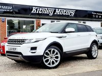 USED 2011 61 LAND ROVER RANGE ROVER EVOQUE 2.2 SD4 PURE 5DR AUTO 1 OWNER