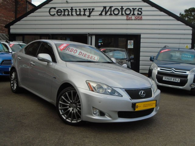 2010 60 LEXUS IS 2.2 220D F-SPORT 4d + LEATHER