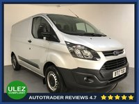 USED 2017 17 FORD TRANSIT CUSTOM 2.0 290 LR P/V 1d 104 BHP FULL SERVICE HISTORY - 1 OWNER - REAR PARKING SENSORS - BLUETOOTH CONNECTIVITY - AIR CONDITIONING