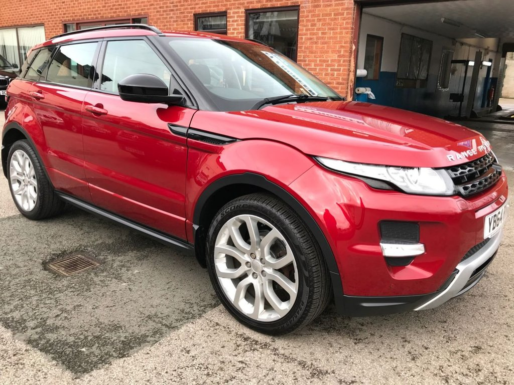 """USED 2015 64 LAND ROVER RANGE ROVER EVOQUE 2.2 SD4 DYNAMIC 5DOOR AUTO 190 BHP DAB   :   Satellite Navigation   :   Cruise Control / Speed Limiter   :   Bluetooth Connectivity      Climate Control / Air Conditioning   :   Heated & Electric Front Seats   :   Rear View Camera      Front & Rear Parking Sensors   :   20"""" Alloy Wheels   :   Full Land Rover Service History"""