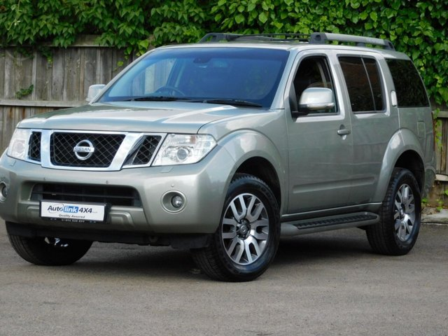USED 2011 11 NISSAN PATHFINDER Tekna dCi 2 Owners+Rear Aircon+Leather