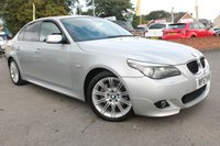 USED 2007 57 BMW 5 SERIES 2.0 520D M SPORT 4d 175 BHP AMAZING 12 STAMPS SERVICE HISTORY - VERY WELL CARED FOR EXAMPLE