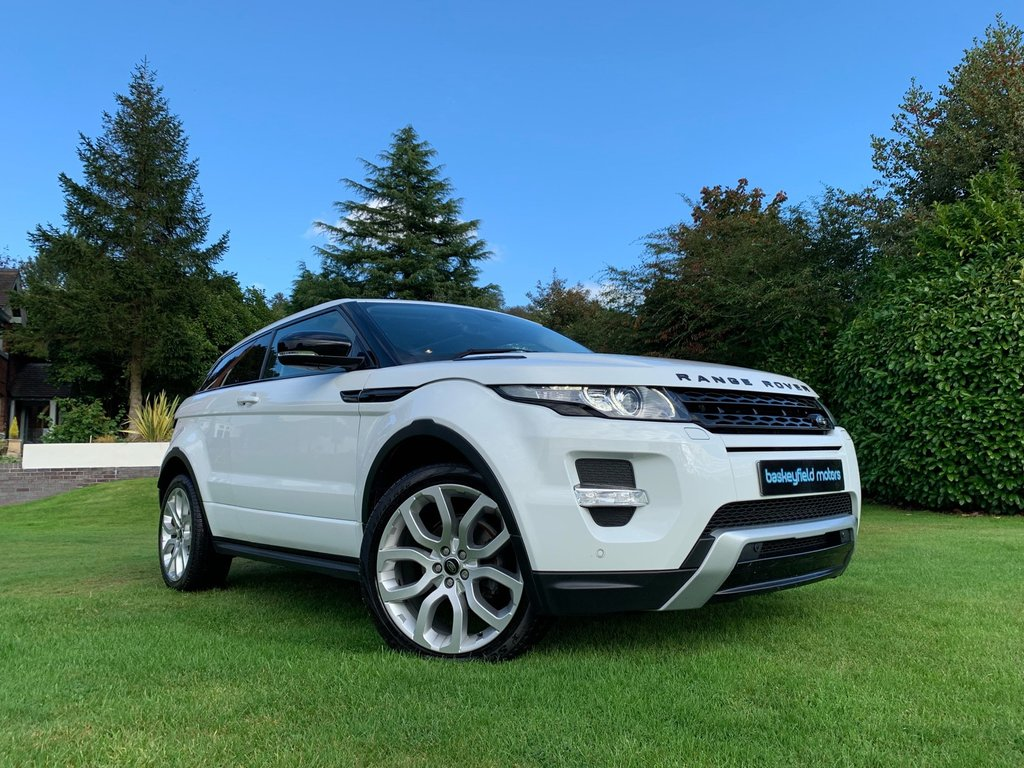 USED 2013 63 LAND ROVER RANGE ROVER EVOQUE 2.2 SD4 DYNAMIC 3d 190 BHP