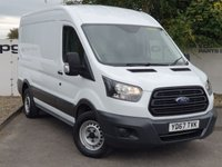 USED 2017 67 FORD TRANSIT 350 2.0 130 BHP L2 H2 **CHOOSE FROM OVER 85 VANS IN STOCK**