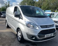 USED 2015 65 FORD TRANSIT CUSTOM 290 LIMITED LR P/V EX LEASE WITH ADDITIONAL SECURITY LOCKS