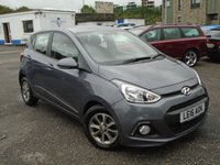 USED 2016 16 HYUNDAI I10 1.2 PREMIUM 5d 86 BHP VERY LOW MILES GREAT CONDITION