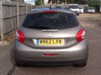 USED 2012 62 PEUGEOT 208 1.6 ALLURE E-HDI 5d 92 BHP * £0 TAX, FULL HISTORY * ONLY 63000 MILES, £0 ROAD TAX, FULL SERVICE HISTORY, GOOD SPEC