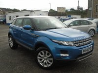 USED 2014 64 LAND ROVER RANGE ROVER EVOQUE 2.2 SD4 PURE 5d 190 BHP 4WD 1 OWNER FLSH+4WD+PAN ROOF