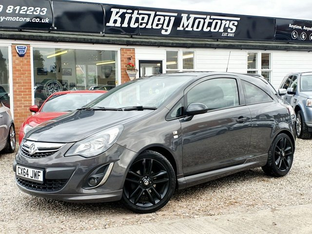 2014 64 VAUXHALL CORSA 1.2 LIMITED EDITION 3DR