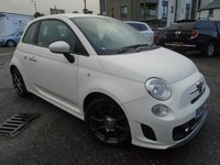 USED 2012 62 ABARTH 500 1.4 ABARTH 3d 135 BHP 1 OWNER+NEW MOT+NEW SERVICE