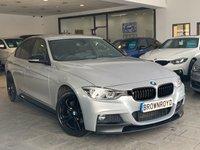 USED 2017 17 BMW 3 SERIES 2.0 320D XDRIVE M SPORT 4d AUTO 188 BHP BM PERFORMANCE STYLING+X-DRIVE