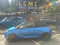 USED 2017 17 VAUXHALL ADAM 1.2 ENERGISED 3d 69 BHP STUNNING METALLIC ARDEN BLUE PAINT , GLOSS BLACK ROOF, MIRROR CAPS, ALLOYS, CRUISE CONTROL, BLUETOOTH, AIRCON, 1 OWNER, SERVICE HISTORY, ECONOMICAL, GREAT VALUE, LOVELY COLOUR COMBINATION