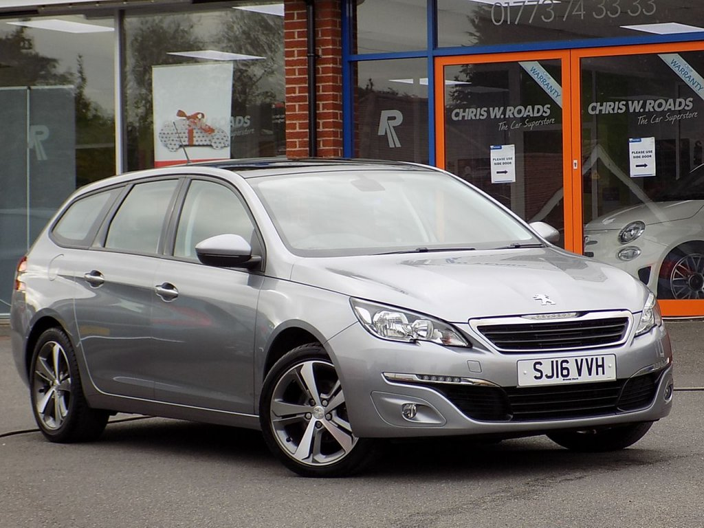 USED 2016 16 PEUGEOT 308 SW 1.6 BlueHDi Active 5dr Estate **Sat Nav + Panoramic Roof**