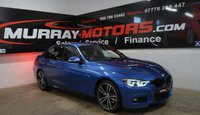 2016 BMW 3 SERIES 2.0 320D M SPORT 4DOOR AUTO 188 BHP ESTORIL BLUE £16250.00