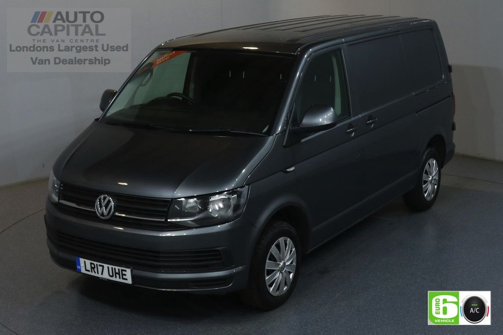 USED 2017 17 VOLKSWAGEN TRANSPORTER 2.0 T28 TDI TRENDLINE 101 BHP SWB EURO 6 ENGINE AIR CON, REAR PARKING SENSORS