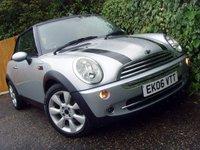 2006 MINI CONVERTIBLE 1.6 COOPER 2d AUTO 114 BHP £4299.00