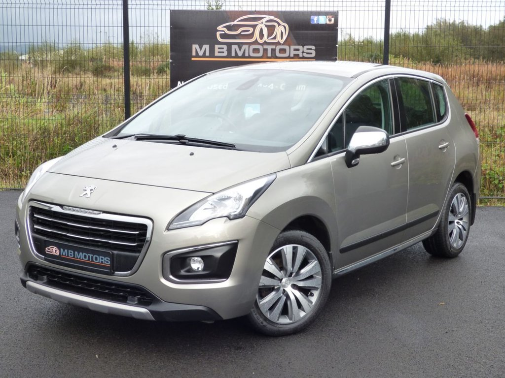 USED 2015 PEUGEOT 3008 ACTIVE 1.6 HDI 5d 115 BHP