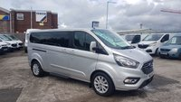 USED 2018 18 FORD TOURNEO CUSTOM 2.0 310 TITANIUM LWB 9 SEATER MINIBUS 9 ( NEW MODEL ) ( LOTS MORE IN STOCK OVER 100 ON SITE )