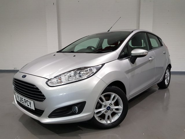 USED 2015 15 FORD FIESTA 1.0 ZETEC 5d 99 BHP 3 MONTH AA WARRANTY+ BREAKDOWN AND LOW RATE FINANCE AVAILABLE