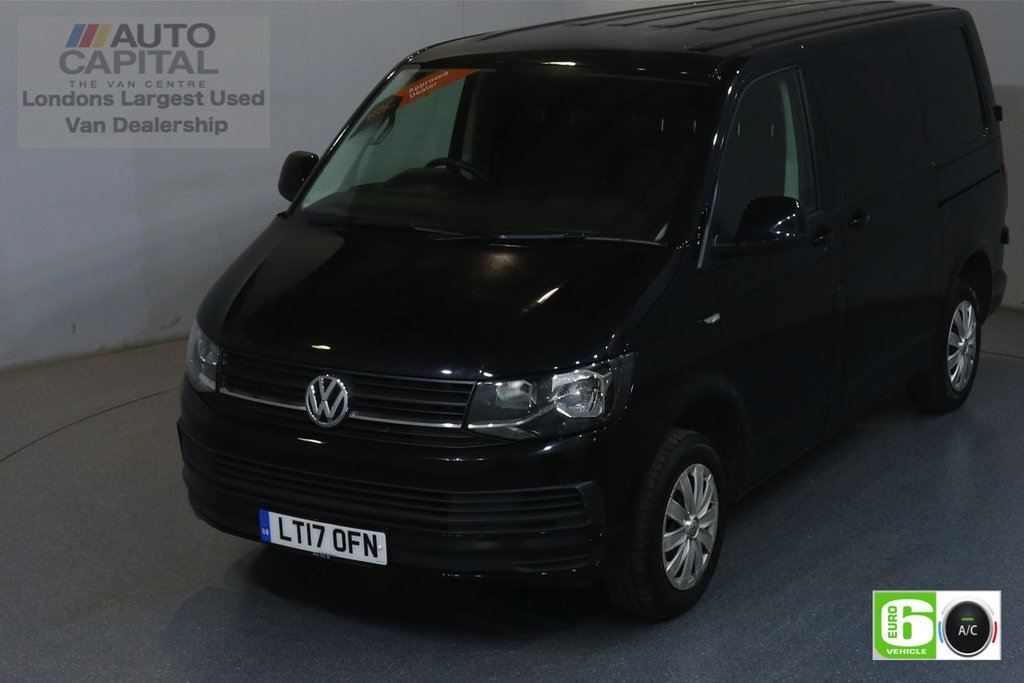 USED 2017 17 VOLKSWAGEN TRANSPORTER 2.0 T28 TDI TRENDLINE 101 BHP SWB EURO 6 ENGINE AIR CON, REAR PARKING SENSORS, CRUISE CONTROL
