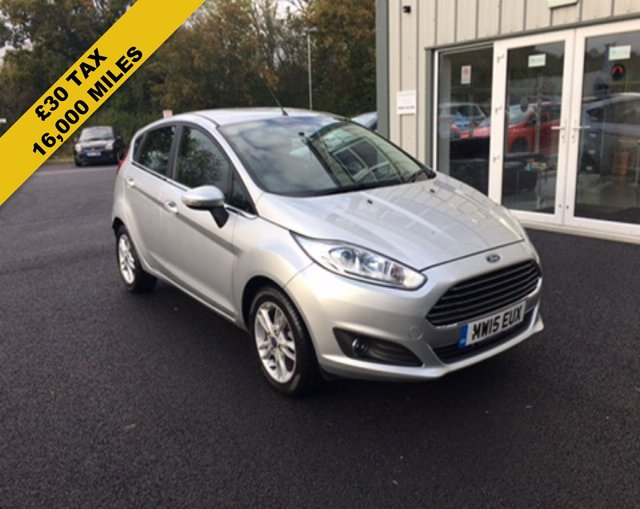 2015 15 FORD FIESTA 1.0 ZETEC ECOBOOST AUTOMATIC (100PS)