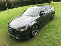 USED 2013 62 AUDI A6 2.0 TDI S LINE 4d 175 BHP **EXCELLENT FINANCE PACKAGES**AUDI SERVICE RECORD**SAT NAV**LEATHER INTERIOR**