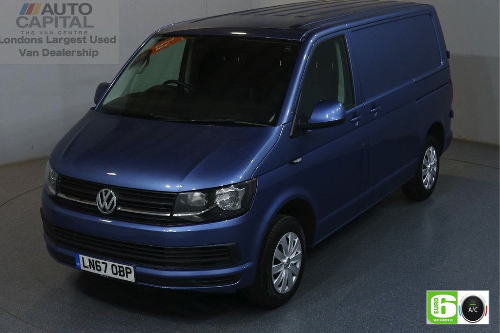 USED 2017 67 VOLKSWAGEN TRANSPORTER 2.0 T28 TDI TRENDLINE 101 BHP SWB EURO 6 ENGINE AIR CON, REAR PARKING SENSORS