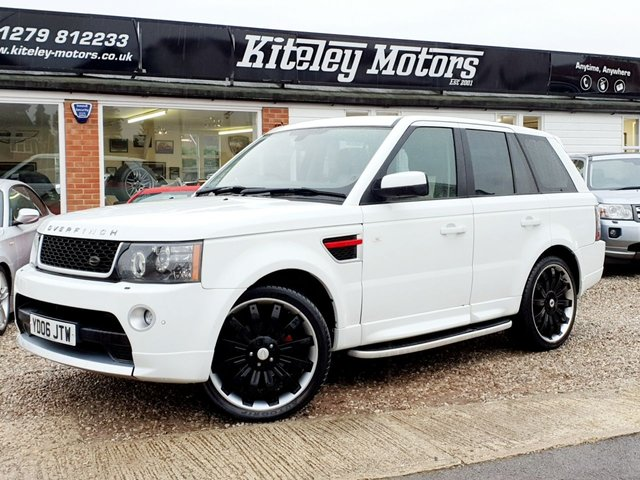 2006 LAND ROVER RANGE ROVER SPORT 2.7 TDV6 HSE FACE LIFT CONVERSION