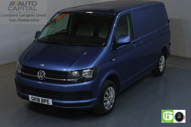2018 18 VOLKSWAGEN TRANSPORTER 2.0 T28 TDI TRENDLINE 101 BHP SWB EURO 6 ENGINE AIR CON, REAR PARKING SENSORS, FOLDING MIRRORS