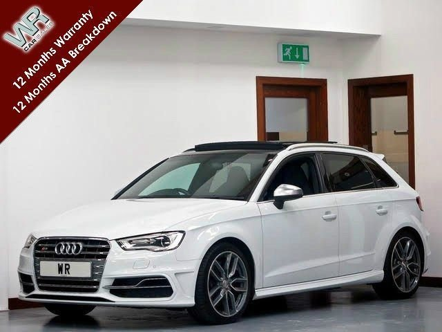 USED 2015 15 AUDI S3 2.0 TFSI Sportback quattro 5dr PAN ROOF + SS SEATS + R/CAM