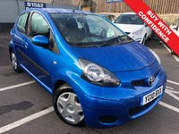 USED 2010 10 TOYOTA AYGO 1.0 BLUE VVT-I 5d AUTO 67 BHP LOW MILEAGE, SMALL AUTOMATIC