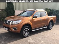 USED 2016 NISSAN NAVARA 2.3 DCI TEKNA 4X4 SHR DCB 1d 190 BHP LEATHER, SAT NAV, 360 CAMERA