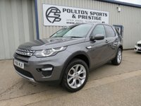 USED 2016 66 LAND ROVER DISCOVERY SPORT 2.0 TD4 HSE 5d AUTO + GLASS ROOF + 1 OWNER + FSH + MERIDIAN