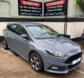 2017 FORD FOCUS ST-3 2.0 TDCI 5DR 185 BHP, NAVIGATION, ONLY £20 ROAD TAX. £17650.00