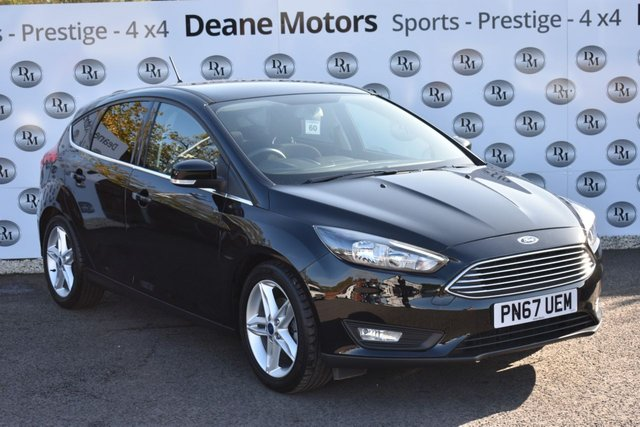 2017 67 FORD FOCUS 1.0 ZETEC EDITION 5d 124 BHP APPEARANCE PACK