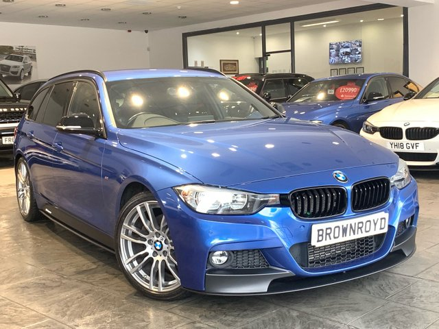 USED 2015 65 BMW 3 SERIES 3.0 330D M SPORT TOURING 5d AUTO 255 BHP BM PERFORMANCE STYLING+PRO NAV
