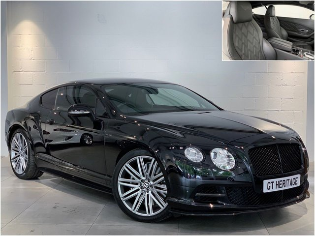 2013 13 BENTLEY CONTINENTAL 6.0 GT SPEED [MDS][CARBON PACK] 616 BHP