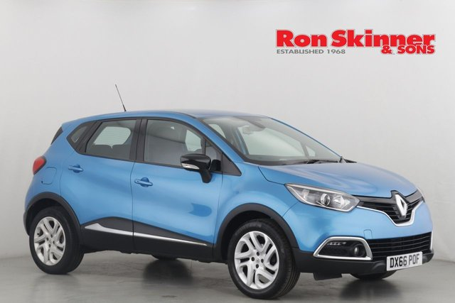 View our 2016 66 RENAULT CAPTUR 0.9 DYNAMIQUE NAV TCE 5d 90 BHP