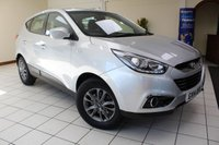 USED 2014 14 HYUNDAI IX35 1.6 GDI S 5d 133 BHP SERVICE HISTORY (5 SERVICES) / MULTIPLE AIRBAGS / ISOFIX