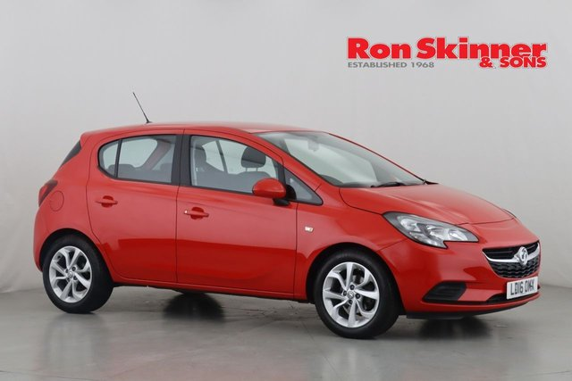 View our 2016 16 VAUXHALL CORSA 1.4 STING ECOFLEX 5d 74 BHP