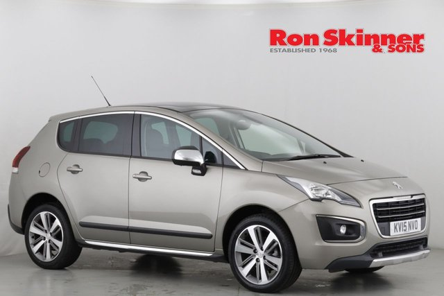 View our 2015 15 PEUGEOT 3008 1.6 HDI ALLURE 5d 115 BHP