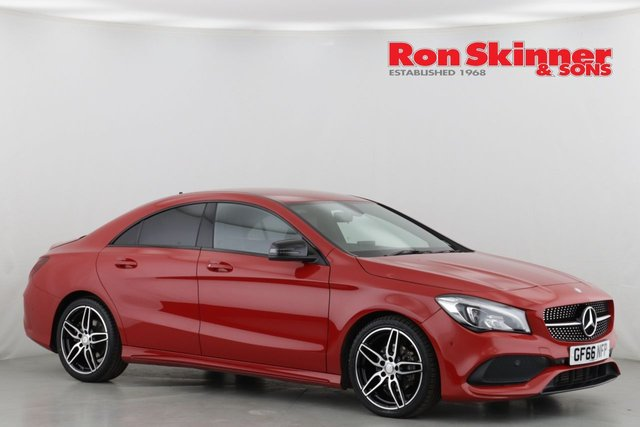 View our 2016 66 MERCEDES-BENZ CLA 2.1 CLA 200 D AMG LINE 4d 134 BHP