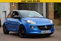 USED 2018 68 VAUXHALL ADAM 1.2 ENERGISED 3d 69 BHP Just 4700 miles on this December 2018 Vx Adam 1.2 Energised 3dr in blue metallic with a black roof, black alloy wheels and charcoal part leather interior. Specification includes AIR CON, DAB RADIO, CRUISE CONTROL & BLUETOOTH.